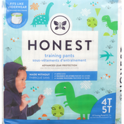 Honest Tea Training Pants, Dinosaurs, 4T 5T (38+ lbs)