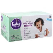 Baby Basics Baby Wipes, Unscented, Soft & Thick