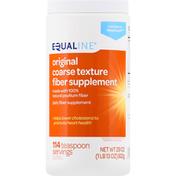 Equaline Fiber Supplement, Original, Coarse Texture