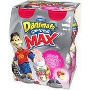 Danimals Smoothie Max Ultimate Strawberry Banana 7 Oz Smoothie