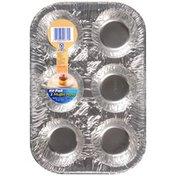 Hefty EZ Foil 12.25 in. X 8.25 in. X 1.25 in. Muffin Pans