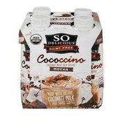So Delicious Dairy Free Cococcino Coconut Milk Iced Coffee Mocha - 4 CT