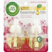 Air Wick Scented Oil Refills, White Lilac Fragrance
