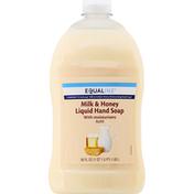 Equaline Hand Soap, Milk & Honey, Refill