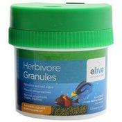 Elive Herbivor Granules Fish Food