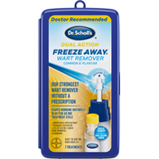 Dr. Scholl's Wart Remover, Dual Action, Common & Plantar