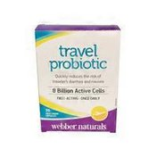 Webber Travel Probiotic 8 Billion Active Cell