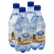 Crystal Geyser Alpine Spring Water Sparkling Spring Water, Natural Pineapple Mango Flavor