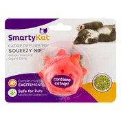 SmartyKat Catnip Diffuser Toy Squeezy Nip