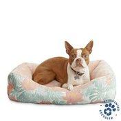 "24"" x 18"" Floral Dog Bed"