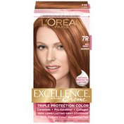 Excellence Permanent Haircolor, Warmer, Red Penny 7R