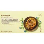 GreenWise Gluten Free Blueberry Waffles