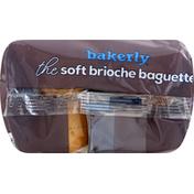 Bakerly Brioche Baguette, Soft