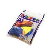 Amscan Balloons, 12 Inch, Helium Quality, Round, Assorted
