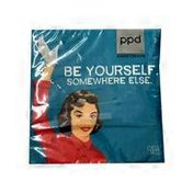 Paperproducts Design Be Yourself Beverage Napkin