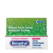Benadryl Itch Stopping Cream, Original Strength