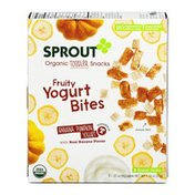 Sprouts Organic Toddler Snacks Yogurt Bites Banana Pumpkin Yogurt