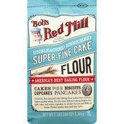 Bob's Red Mill Flour, Unbleached Enriched, Super-Fine Cake