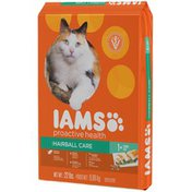 IAMS Proactive Health Hairball Care with Chicken & Salmon Dry Cat Food