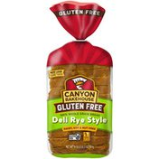 Canyon Bakehouse Gluten Free Deli Rye Style 100% Whole Grain Bread