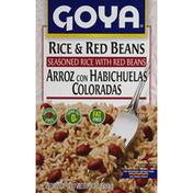 Goya Rice & Red Beans, Seasoned Rice Mix