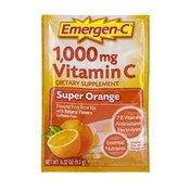 Emergen-C Vitamin C Super Orange Flavored Fizzy Drink Mix