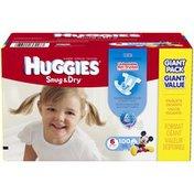 Huggies Snug & Dry Size 6 Diapers