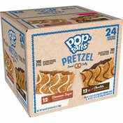 Kellogg's Pop-Tarts Pretzel Breakfast Toaster Pastries, Good Source of 3 B Vitamins, Variety Pack