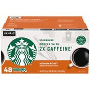 Starbucks Medium Roast Ground Coffee with Coffee Extracts K-Cup Pods