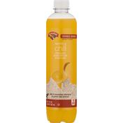 Hannaford Sparkling Water Beverage, Orange Mango, Sparkling Chill