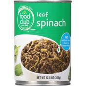 Food Club Spinach, Leaf