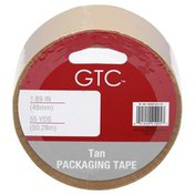 GTC Tape, Packaging, Tan