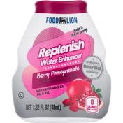 Food Lion Water Enhancer, Berry Pomegranate, Replenish