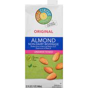 Full Circle Non-Dairy Beverage, Original, Almond, Unsweetened