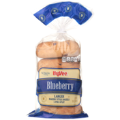 Hy-Vee Blueberry Larger Bakery Style Bagels