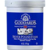 Goddard's Silver Polish, Foam