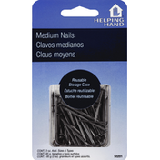 Helping Hand Medium Nails, Assorted Sizes & Types