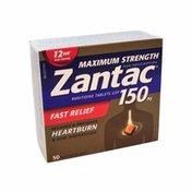 Zantac 150 Milligram Maximum Strength Non Prescription Tablets