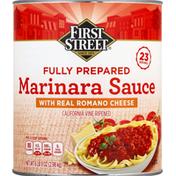 First Street Marinara Sauce