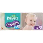 Pampers Cruisers Big Pack Size 5 Diapers