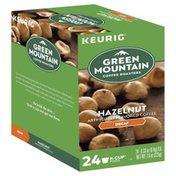 Green Mountain Coffee, Light Roast, Hazelnut, Decaf, K-Cup Pods
