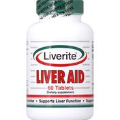 Liverite Liver Aid Tablets