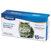 Petmate Medium Cat Litter Pan Liners