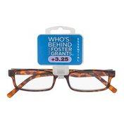 Foster Grants Non-Prescription Glasses Essential +3.25 Carter TOR