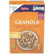 Hy-Vee Oats & Wheat, Brown Sugar, Almonds & Honey Granola Cereal