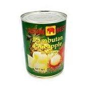 Asian Best Rambutan Pineapple In Syrup