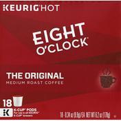 Eight O'Clock Coffee Coffee, 100% Arabica, Medium Roast, The Original