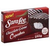 Sara Lee Cakes, Chocolate Creme, 8 Pack, Box