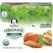 Gerber Organic 2 Nd Foods Veggies Sweet Potato Squash & Pumpkin Baby Food
