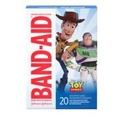 Band-Aid Brand Adhesive Bandages Featuring Disney/Pixar Toy Story 4, Assorted Sizes